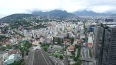 The Metropolitan Cathedral of Rio de Janeiro (San Sebastian), Brazil Stock Footage