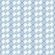 Pattern with pairs of blue diamond shapes with relief effect Stock Illustration