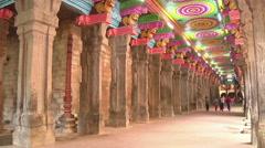 Meenakshi Hindu Temple Stock Footage