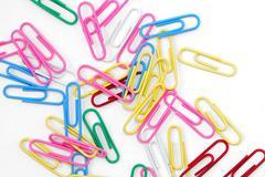 Paper-clips Stock Photos