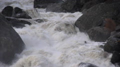 River/Creek: Strong River Flowing/Current With Sound Stock Footage