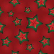 Vector seamless Christmas pattern with clipped stars. Holiday theme Stock Illustration