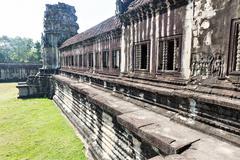 Temple in Angkor Thom, Cambodia Stock Photos