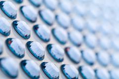 Decorative gems Stock Photos