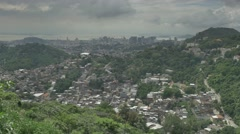 View of Rio Stock Footage