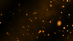Orange and Dark Loopable Background Stock Footage