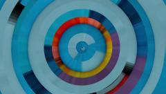 Colorama Circle - stock footage