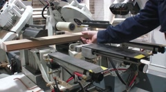 CNC machine with the cutting tool Stock Footage