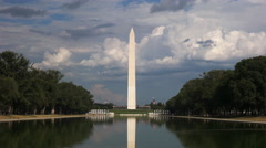 Washington monument close up Stock Footage