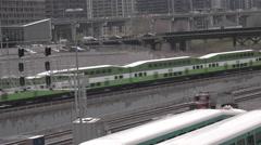 Toronto Go Train Stock Footage