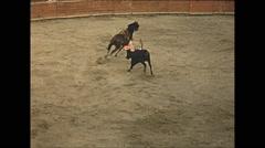 Vintage 16mm film, 1955, Mexico, bullfighting #2 Stock Footage