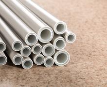 Heap of pipes Stock Photos