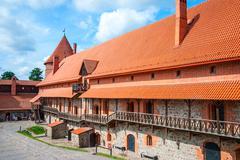 Trakai castle, Lithuania - stock photo