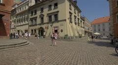 Castle Inn Hotel in Warsaw Stock Footage