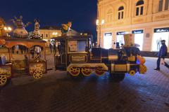 Stock Photo of Nizhny Novgorod, Russia -04.11.2015. The attraction to children's train on