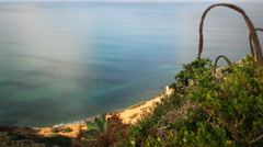 3axis Motion Time Lapse of Tropical Seascape at Bluff Cove -Long Shot- Stock Footage