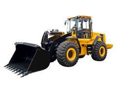 Big bulldozer - stock photo