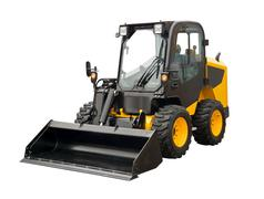 Mini bulldozer Stock Photos