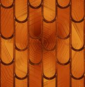 """Pattern """"tile"""" on a brown glass Stock Illustration"""
