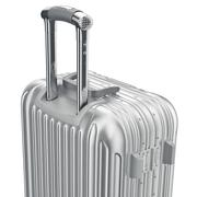 Luggage with handle, close view Stock Illustration
