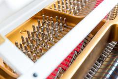Piano adjustment Stock Photos