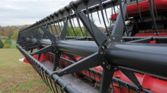 Farm Combine Harvester Farming Equipment Arkistovideo