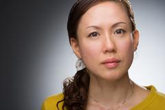 Japanese Woman Headshot Stock Photos
