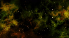 Nebula Clouds and Dust Stock Footage