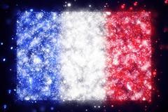 Flag of France Stock Illustration