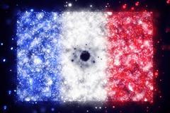 flag of France - stock illustration