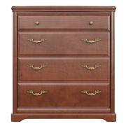 Wooden dresser classic, front view Stock Illustration