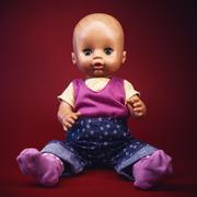 Portrait of a Baby Toy - stock photo