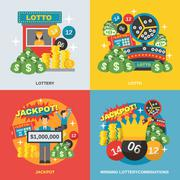 Lottery Flat Set Piirros