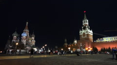 Moscow Kremlin and Red Square - stock footage