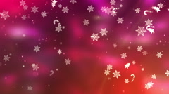 Christmas and New Year Video Background - stock footage