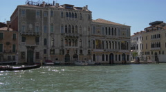 The European Institution of Design and Palazzo Morosini in Venice - stock footage