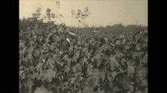 Vintage 16mm film, 1936, Florida, agriculture, tung tree nursery Stock Footage