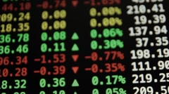 Ungraded: Trading Quotes Ticker Board Stock Footage