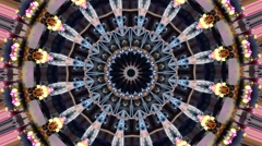 Fairground Kaleidoscope - stock footage