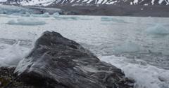 Quartz Rock in Surf - stock footage