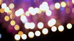Blurred Color Party Lights Arkistovideo