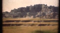 1948  ,Badlands National Park Stock Footage