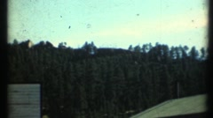 1948  , Family Vacation to the mountains Stock Footage
