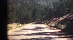 1948  ,Colorado highways Stock Footage