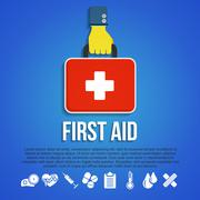 First Aid Kit Concept Stock Illustration
