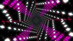 VJ Loop Color Tunnel Stock Footage