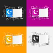 Stock Illustration of Drawing business formulas: koran