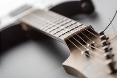 Electric guitar - stock photo