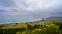 Apollo Bay township - stock footage