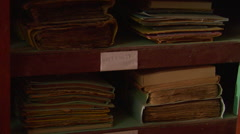 Timbuktu Manuscripts in Case TiltUp Stock Footage